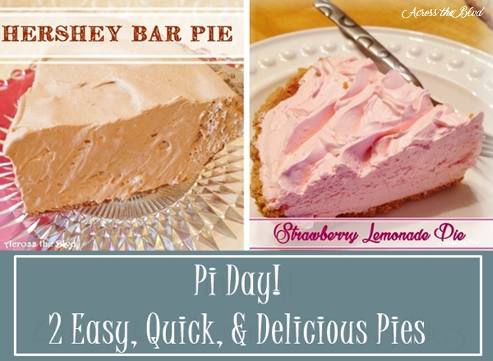 Pi Day! 2 Quick & Delicious Pies Across the Blvd