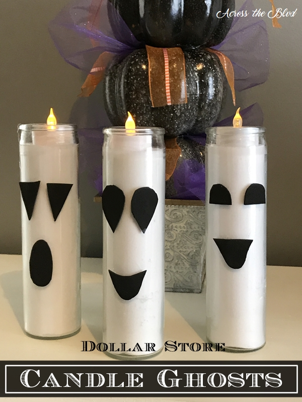 Dollar Store Candle Ghosts Across the Blvd