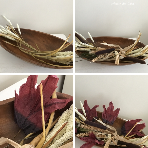 Thrift Store Dough Bowl for Thanksgiving Decor layerimg
