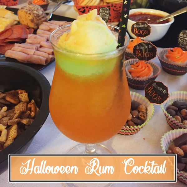 Halloween Rum Punch Across the Boulevard