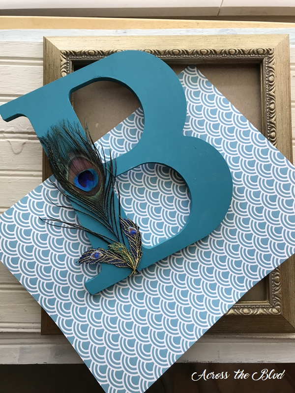 Personalized Peacock Decor Wall Art supplies