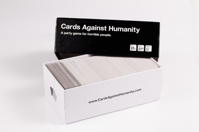 Cards Against Humanity Box Open
