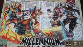 millennium blades level99 board game ccg simulator