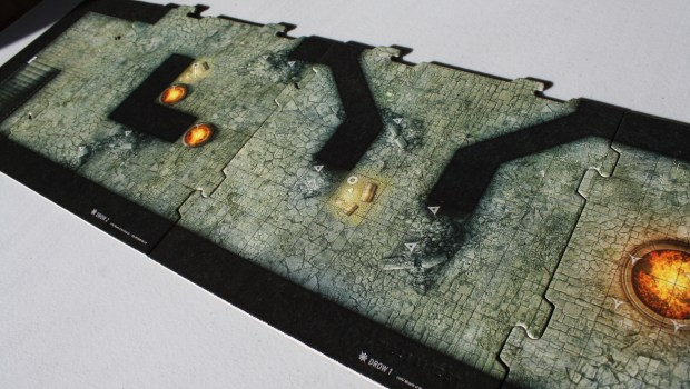 Dungeon Command Lolth Empty Board