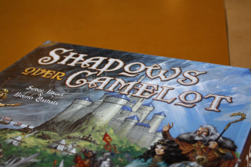 Shadows Over Camelot box art