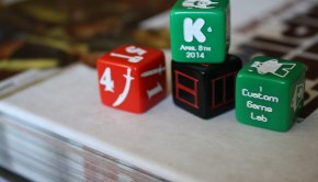 custom game lab custom dice