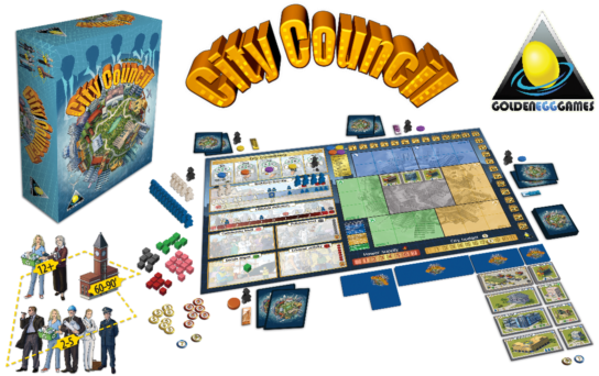 City Council Kickstarter Board Game