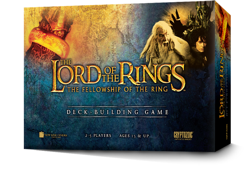 Lord of the Rings Deckbuilding Game Cryptozoic