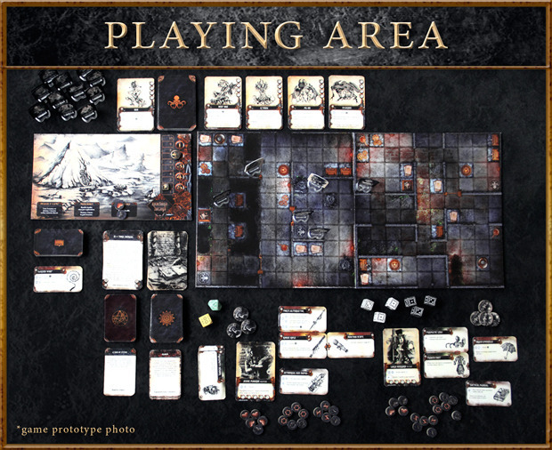 Machina Arcana Board Game Kickstarter