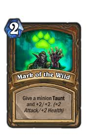 mark of the wild hearthstone
