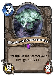 shade of naxxaramus hearthstone