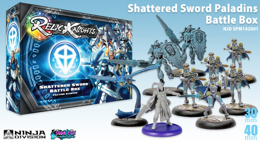 shattered sword relic knights soda pop miniatures