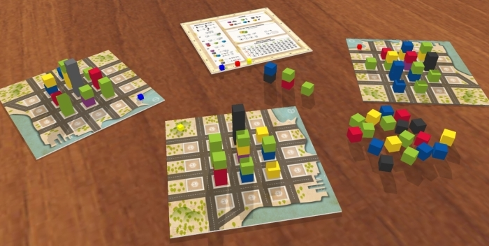 town center board game