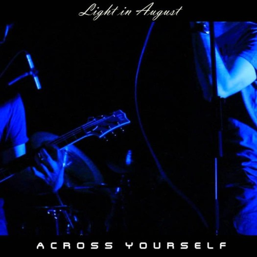 Across Yourself - Ligh in August (live) - front cover