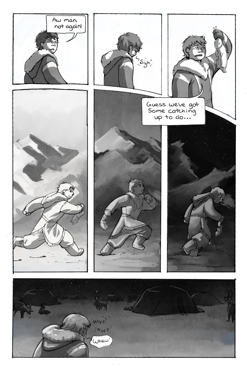 Chapter one, page four