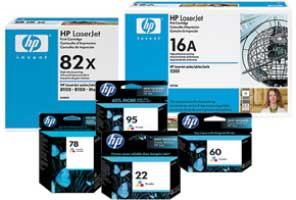 HP Inks & Toners