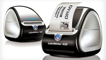 Dymo LabelWriter 450 Turbo with Free Pk10 Bankers Box System!