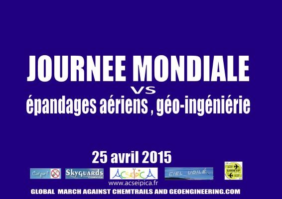 JOURNEE MONDIALE 25 AVRIL 2015