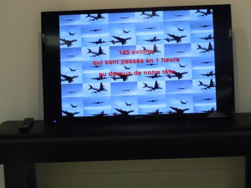 145 avions en une heure
