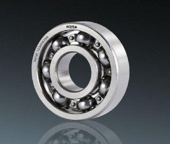 Laser marking of ball bearings