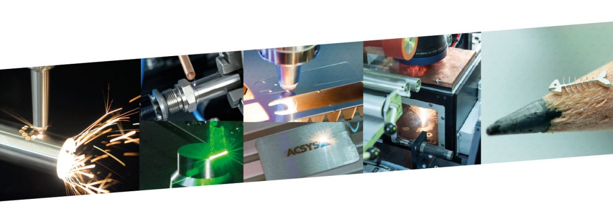 Laser Applikationen made by ACSYS