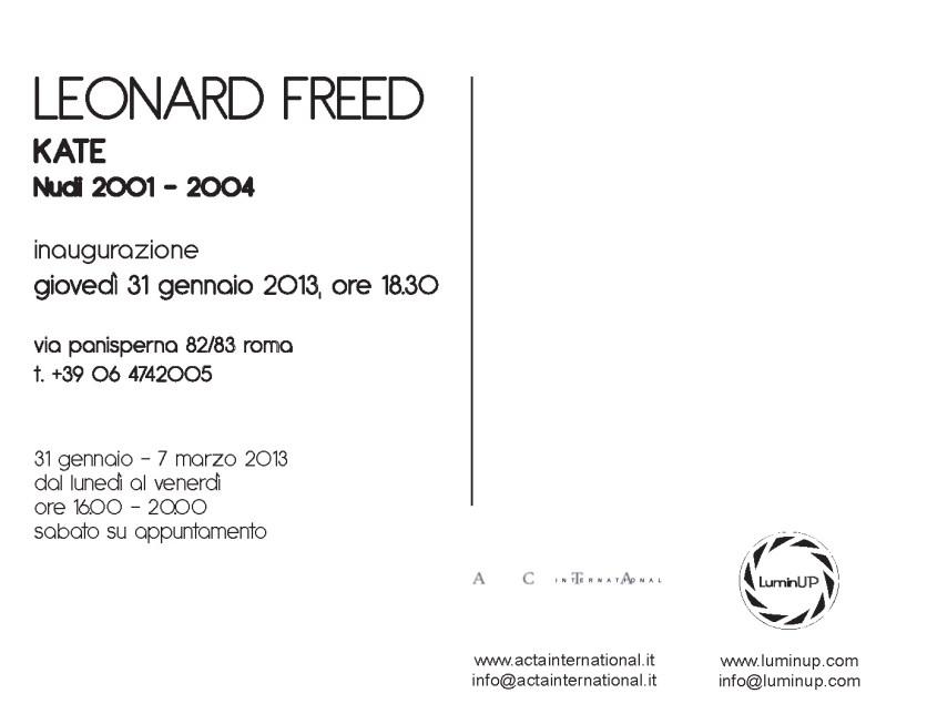 Leonard Freed