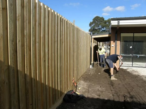 Acoustic Fencing noise reduction - stop street noise - thick paling fence