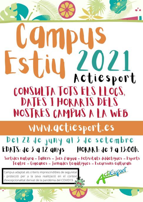 Campus Estiu 2021 - GENERAL