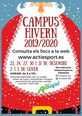 Cartell CAMPUS HIVERN 2019-20 - GENERAL 2