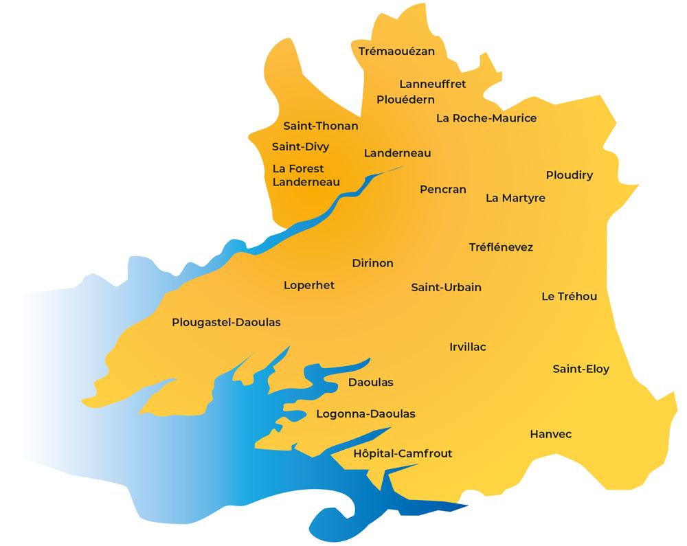 Aide à domicile à Landerneau Daoulas