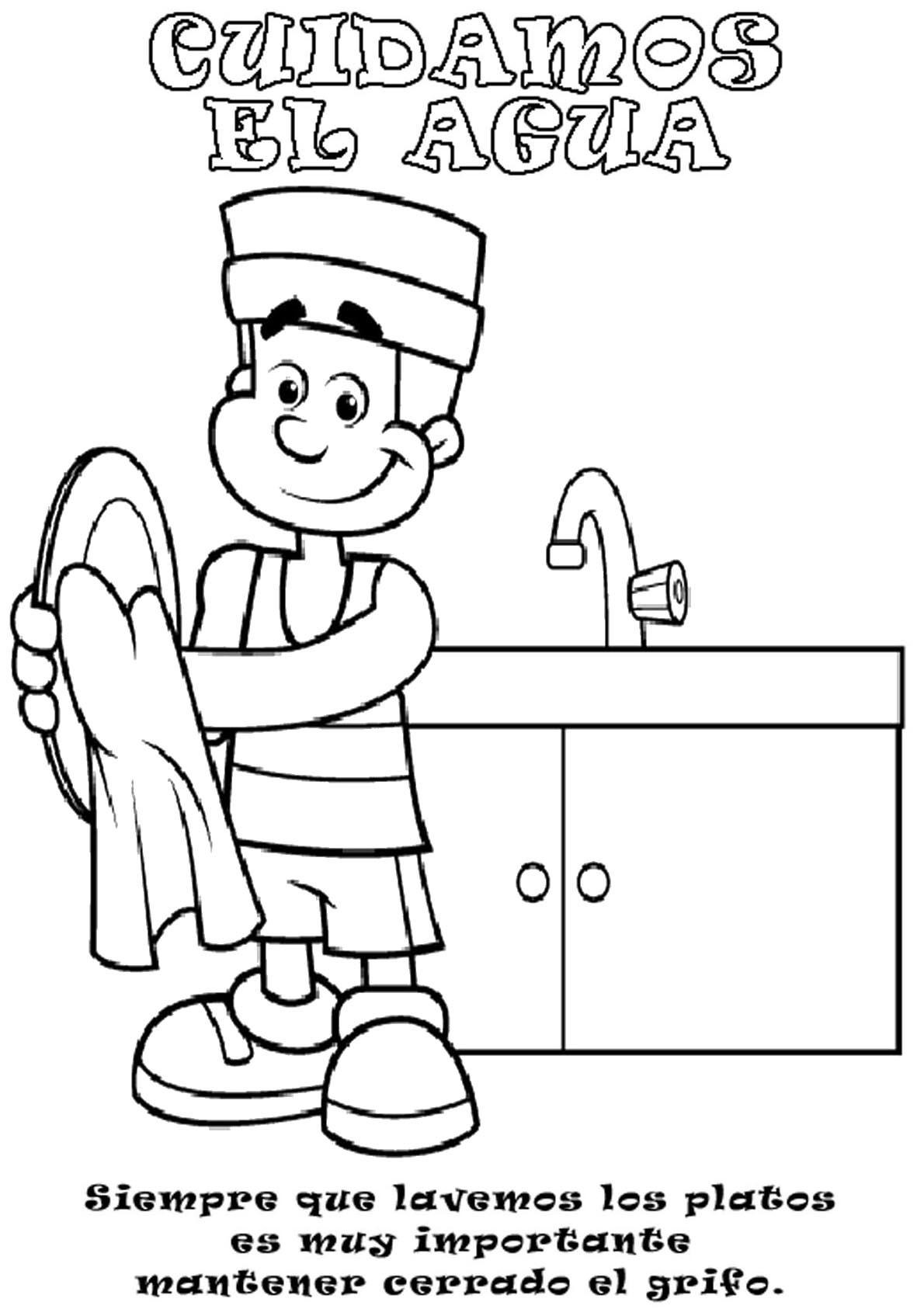 Carteles Para Trabajar Sobre El Agua Actiludis