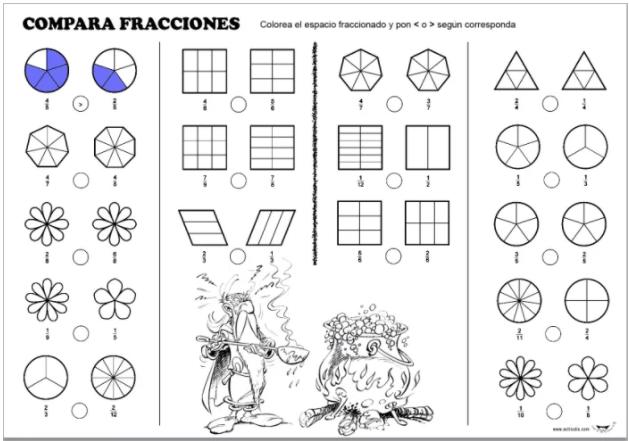 comparar-fracciones