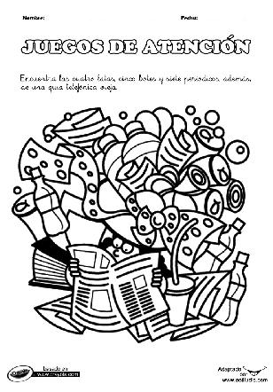 Dibujos ocultos - Actiludis