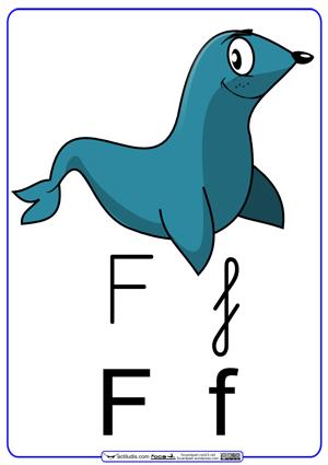 Resultado de imagen de letra f