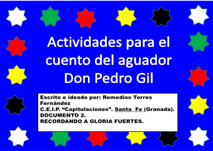 Actividades para Pedro Gil