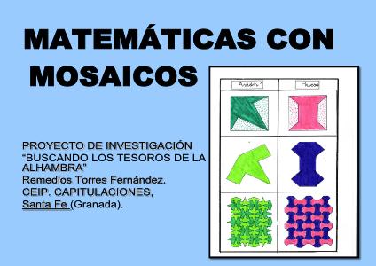 Matemáticas con Mosaicos