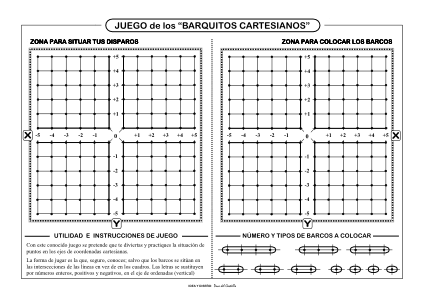 barquitos cartesianos