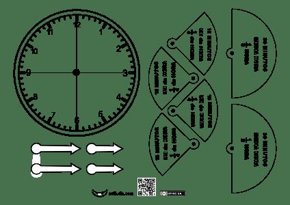 Reloj-medias horas y cuartos