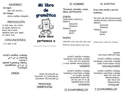 Mi libro de gramática
