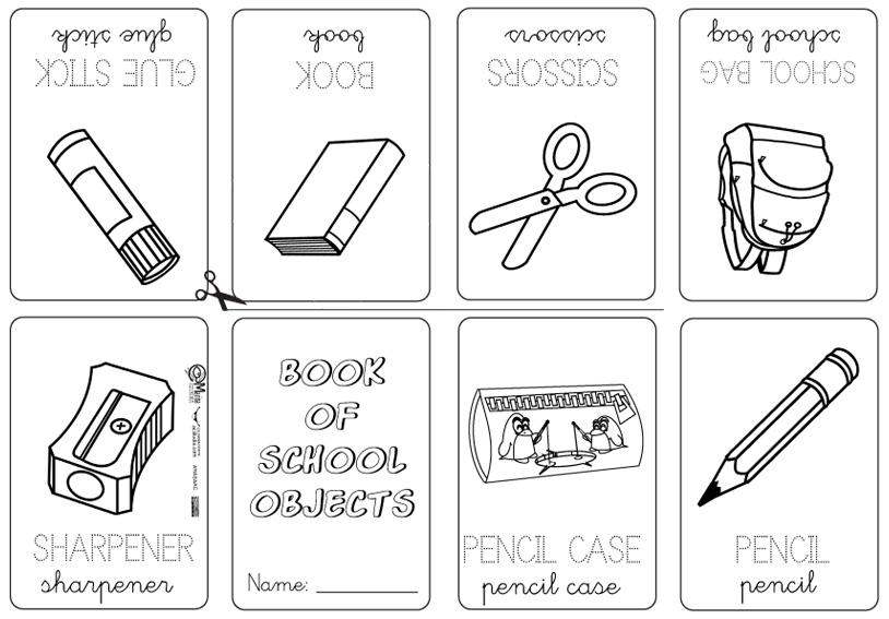 Mini Libros Y Vocabulario En Ingl S Actiludis