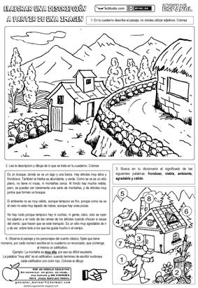 Describir paisajes 1