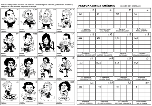 caricaturas famosos ABN