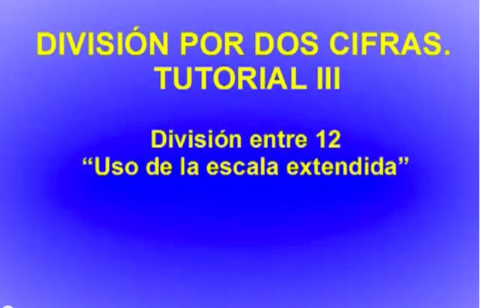 División por 2 cifras III