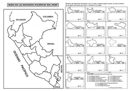 regiones politicas divisiones