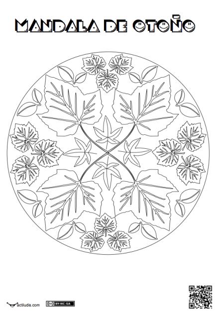 Mandala de otoño