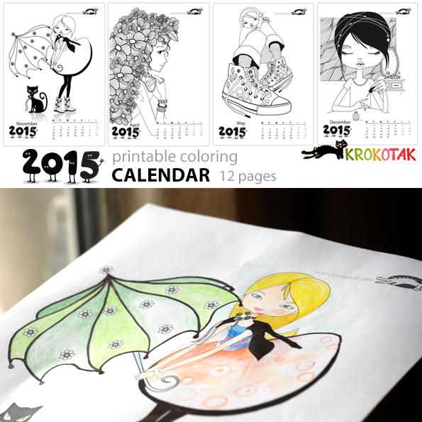Calendario Chicas