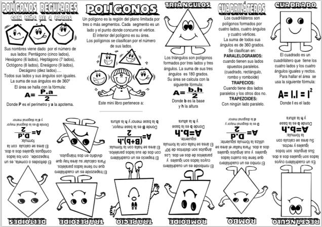 Mini libro Polígonos