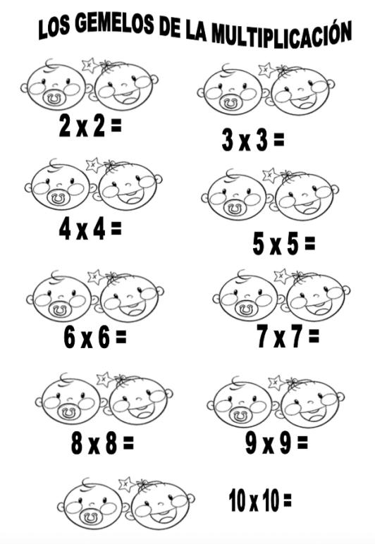 gemelos multiplicación
