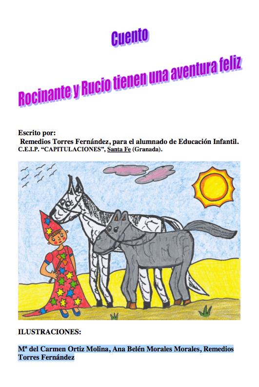 Rocinante y Rucio