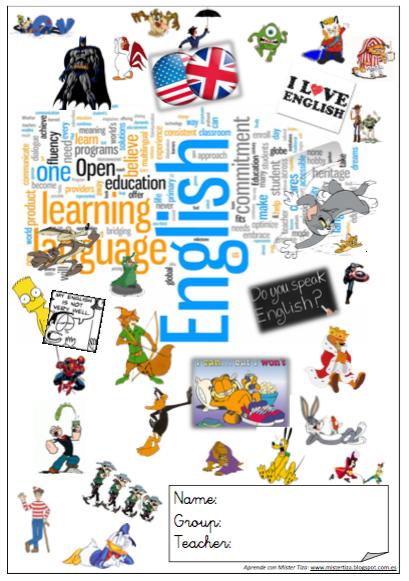 Cuadernillo de apoyo inglés